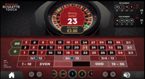 ベラジョンカジノゲーム画面