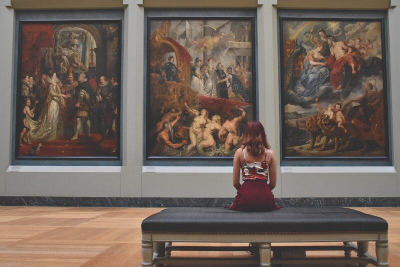 暇つぶし 美術館