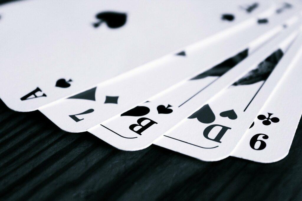 ポーカーの練習